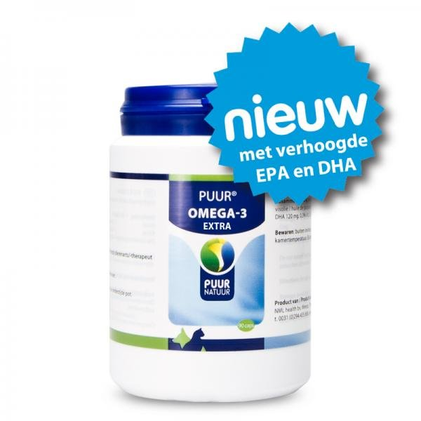 PUUR Omega-3 Extra, capsules | Hond - Kat