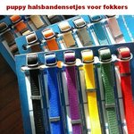 Puppy halsbanden set Medium/Large
