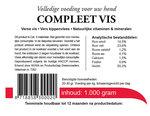 Kip & Vis Compleet (voorheen KIVO Compleet Vis) 500 gram