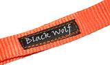 Benji canicross lijn black wolf