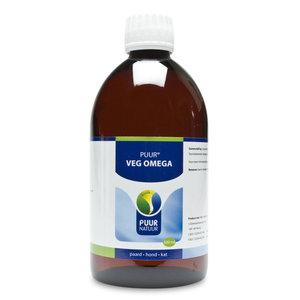 PUUR Veg Omega 500 ml | Hond - Kat - Paard