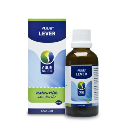 PUUR Lever 50 ml | Hond - Kat