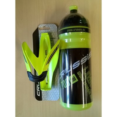 Crussis Neon Bottle & Holder