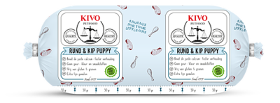 Rund & Kip Puppy (voorheen KIVO Puppy Compleet) 250 gram