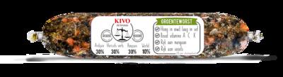 KIVO Groenteworst - per rol a 250 gram