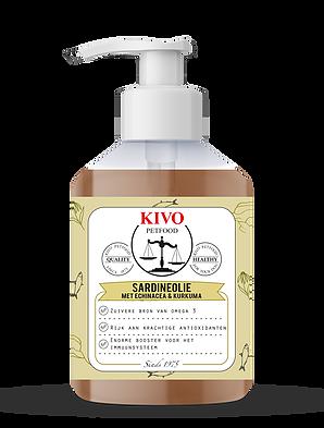 Kivo Sardineolie met Echinacea & Kurkuma