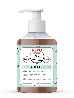 Kivo Sardineolie wildvang