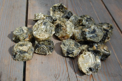 Kabeljauw schijfjes - vis koekjes | 150 gram